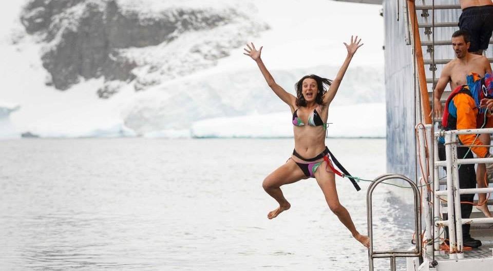 Salta conmigo Antártida