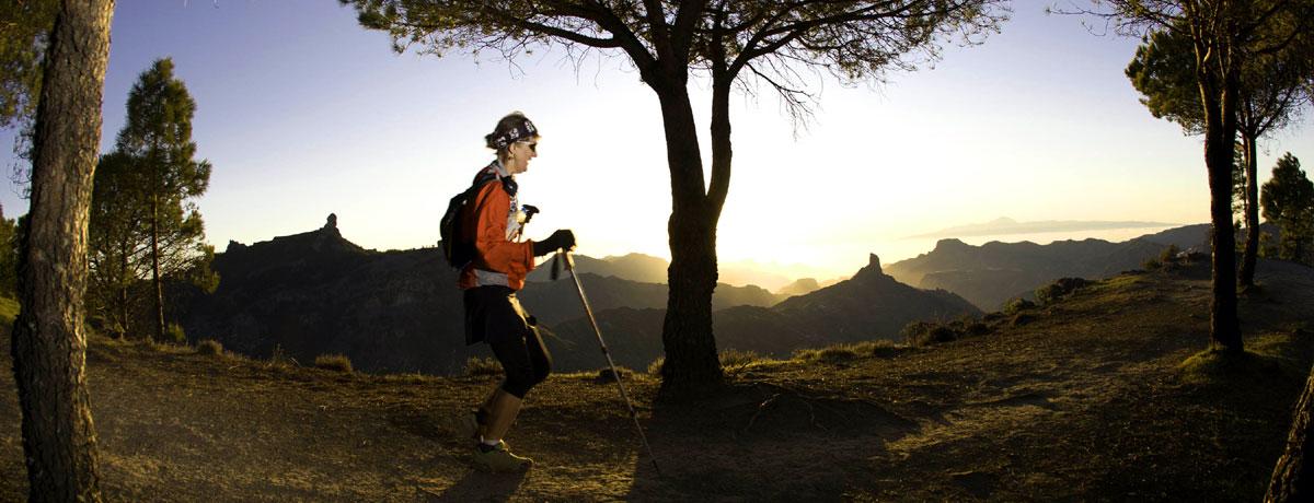 Gran Canaria senderos piedra de toque