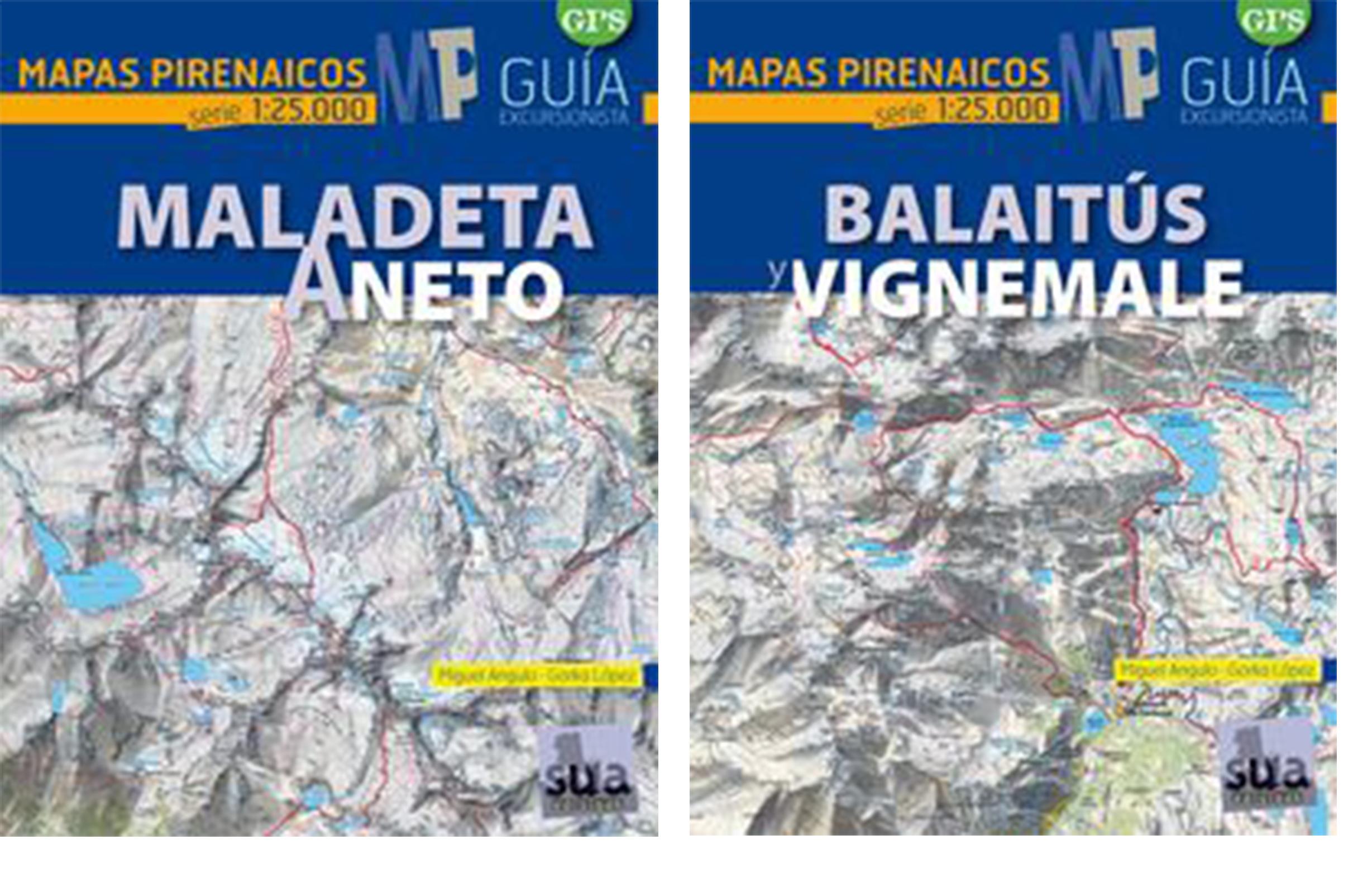 Mapas Pirenaicos