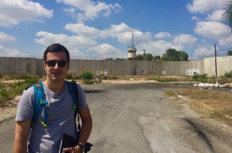 Iñaki Makazaga, Palestina