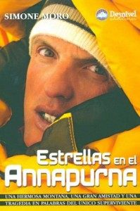 """""""Estrellas en el Annapurna"""", Simone Moro, Ed. Desnivel"""