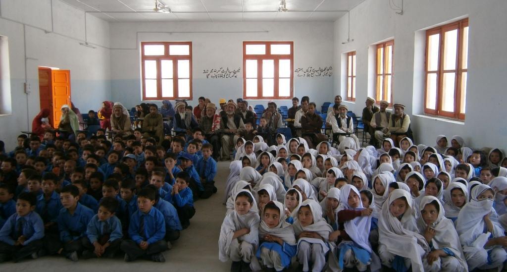 Alumnado de Munawar School.FBF